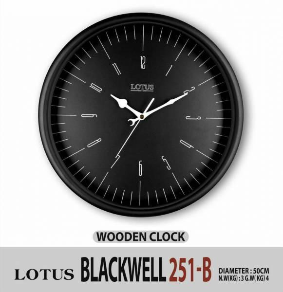 ساعت دیواری گرد لوتوس BLACKWELL 251-B