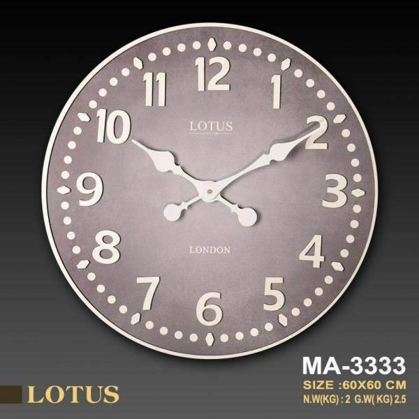 ساعت دیواری لوتوس مدل MA-3333