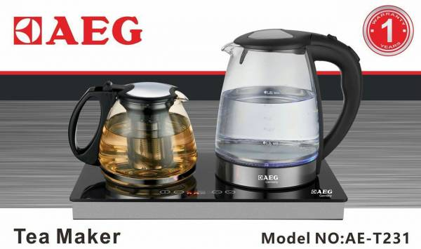توضیحات چاي ساز تمام لمس AEG مدل Ae-T231