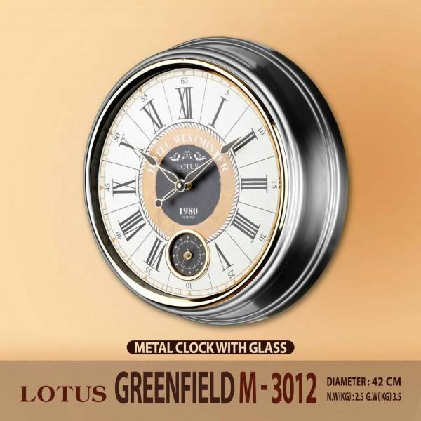 ساعت فلزی لوتوس مدل Greenfield M-3012