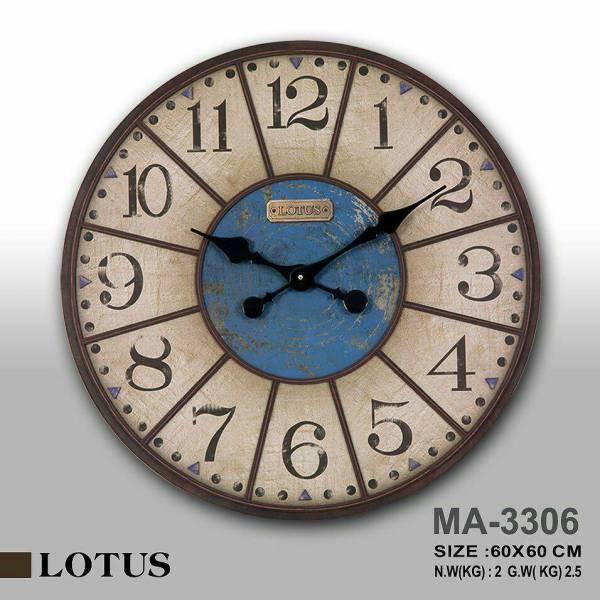 ساعت دیواری دایره مدل MA-3306